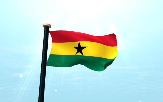 Ghana Flag 3D Free Wallpaper screenshot 9