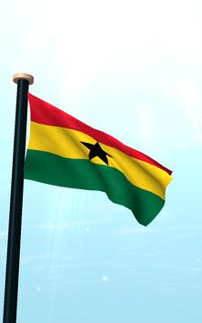 Ghana Flag 3D Free Wallpaper screenshot 11