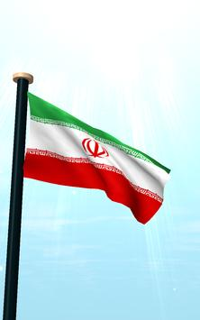 Iran Flag 3D Free Wallpaper screenshot 11