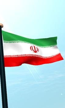 Iran Flag 3D Free Wallpaper screenshot 3