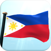 Philippines Flag 3D Free icon