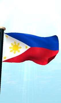 Philippines Flag 3D Free screenshot 4