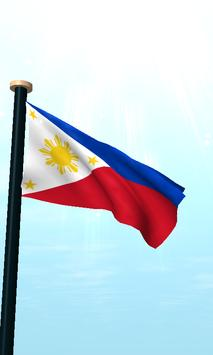 Philippines Flag 3D Free screenshot 1