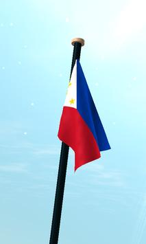 Philippines Flag 3D Free screenshot 2