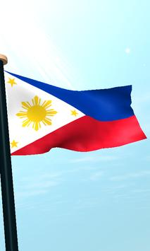 Philippines Flag 3D Free screenshot 3