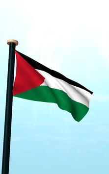 Palestine Flag 3D Free screenshot 11