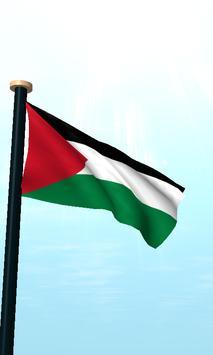 Palestine Flag 3D Free screenshot 1