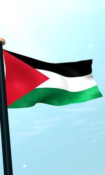 Palestine Flag 3D Free screenshot 3