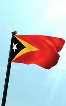Timor-Leste Flag 3D Free screenshot 10