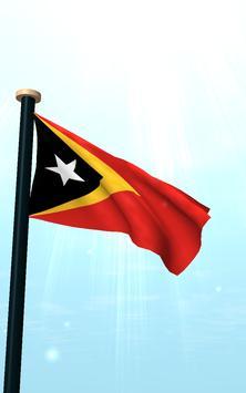 Timor-Leste Flag 3D Free screenshot 11