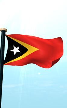 Timor-Leste Flag 3D Free screenshot 14
