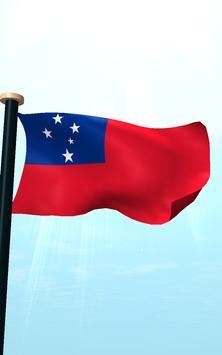 Samoa Flag 3D Free Wallpaper screenshot 14