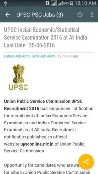 All India Govt and Private Jobs Alert poster