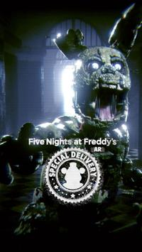 Five Nights at Freddy's AR: Special Delivery Cartaz