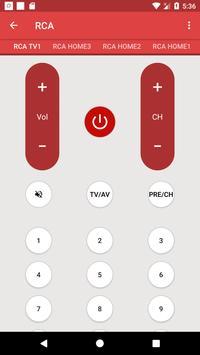 Universal Remote For RCA تصوير الشاشة 4