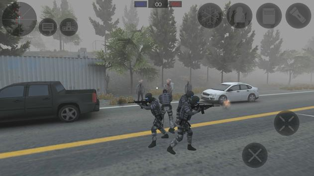 Zombie Combat Simulator screenshot 2