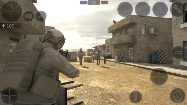 Zombie Combat Simulator screenshot 4