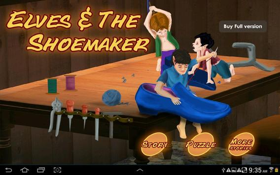 Elves and the Shoemaker HD poster