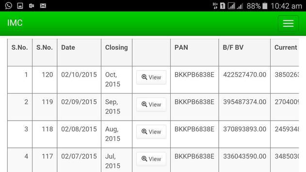 IMC Business Screenshot 3