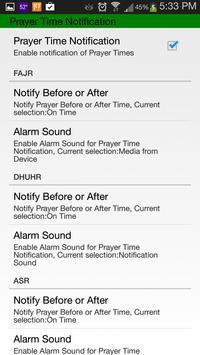 Islamic Prayer Time & Calendar imagem de tela 6