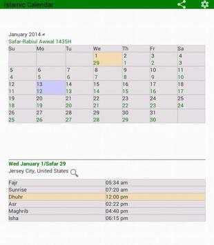 Islamic Prayer Time & Calendar imagem de tela 9