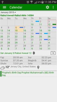 Islamic Prayer Time & Calendar Cartaz