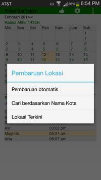 Waktu Shalat & Kalendar Islam screenshot 5