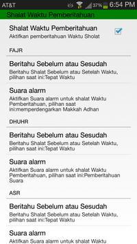 Waktu Shalat & Kalendar Islam screenshot 6