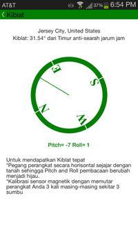 Waktu Shalat & Kalendar Islam screenshot 2