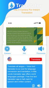 Image Translator : Voice Translator All languages screenshot 4
