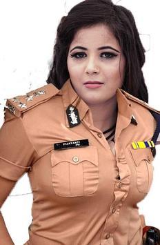 Ladies Police Photo Frame screenshot 2