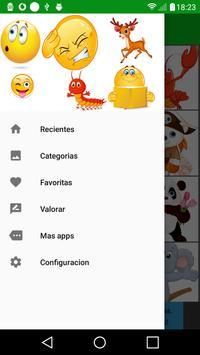 1 Schermata Emoticones para whatsapp - WAStickerApps