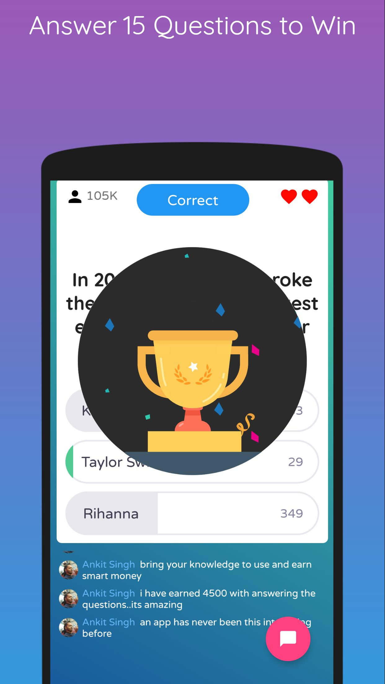 Quiz Point - Play Live Trivia & Win Money for Android - APK