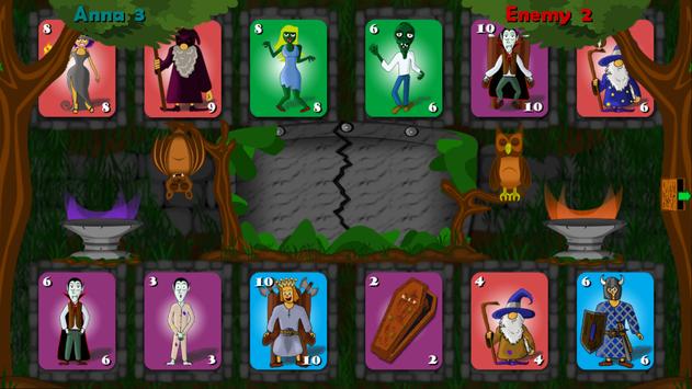Card Game 4 Races screenshot 1