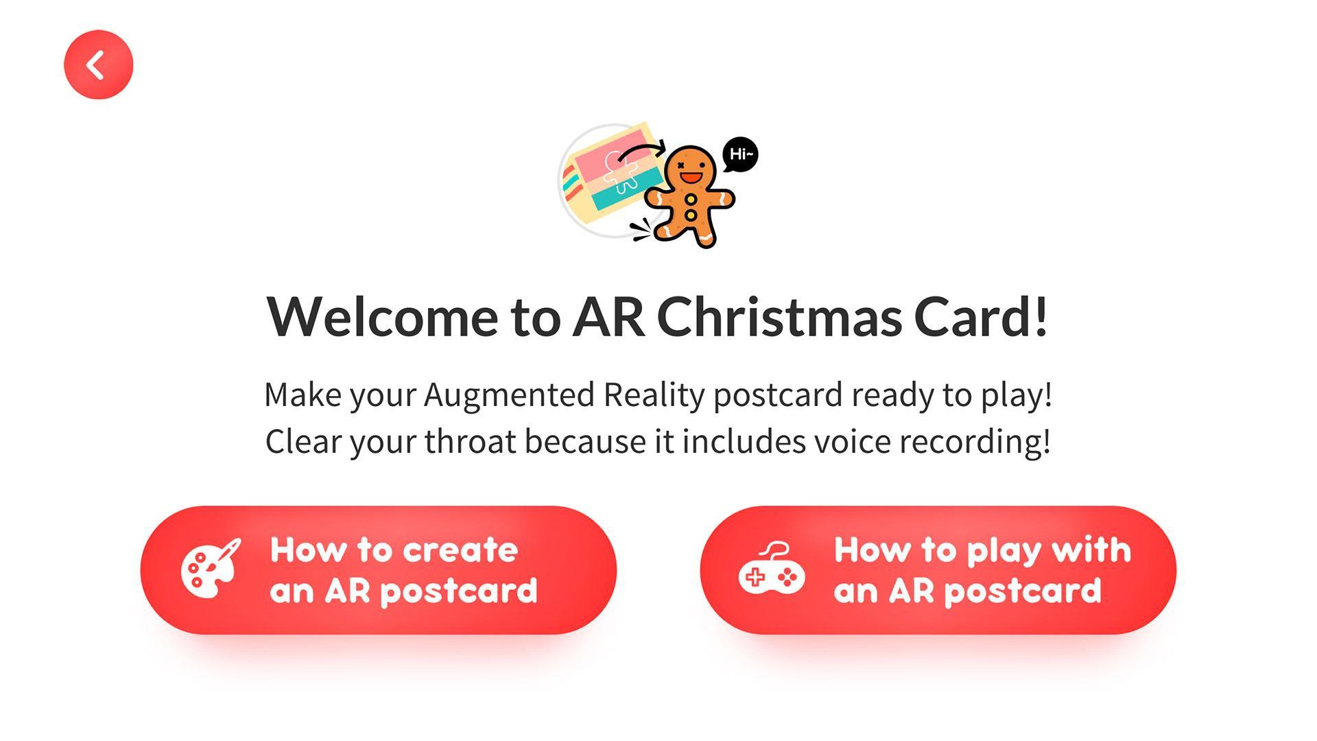 Clayfingers Ar Christmas Card For Android Apk Download