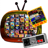 Old 80s Games Classic 90s Retro Gaming - 52 IN 1 icon