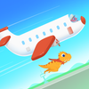 Dinosaur Airport - Flight simulator Games for kids आइकन