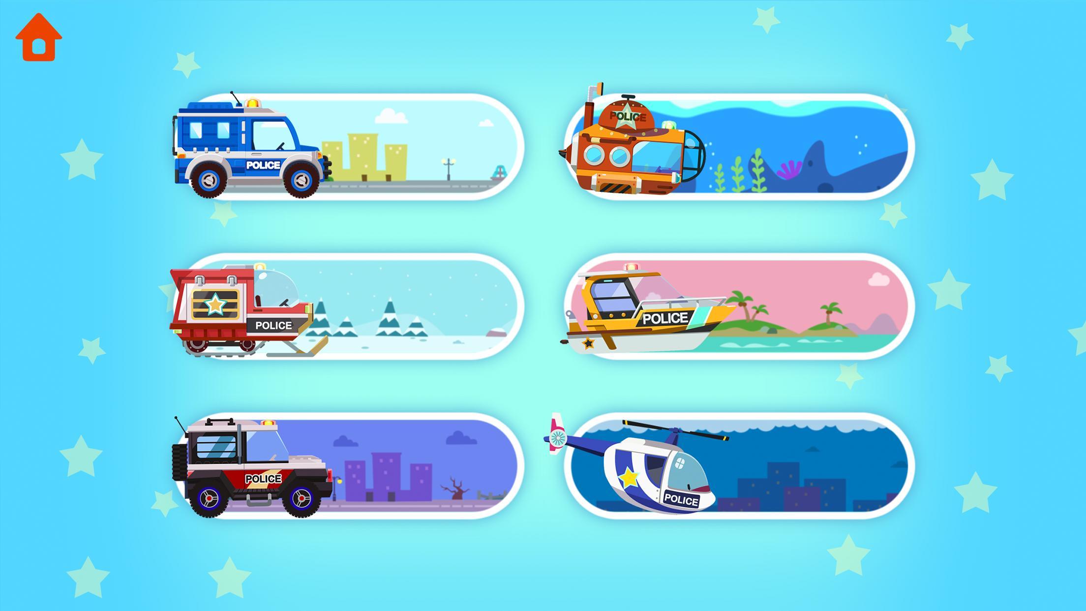 Mobil Polisi Dinosaurus Permainan Anak Anak For Android Apk Download