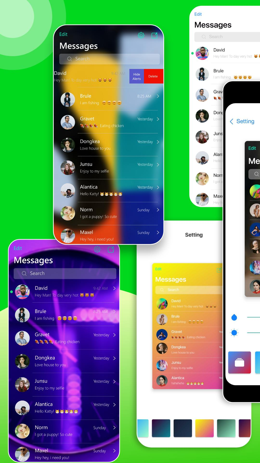 AI Message - Message iOS12 for Android - APK Download