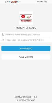 MERCATONE ABC poster