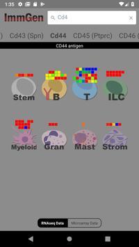 ImmGen screenshot 6