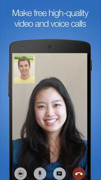 imo free HD video calls and chat poster
