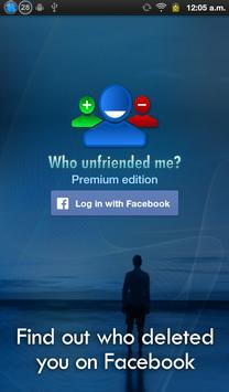 Who unfriended me? screenshot 4