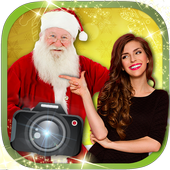 Your photo with Santa Claus icon