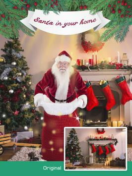 Your photo with Santa Claus screenshot 2