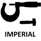 Imperial micrometer icon