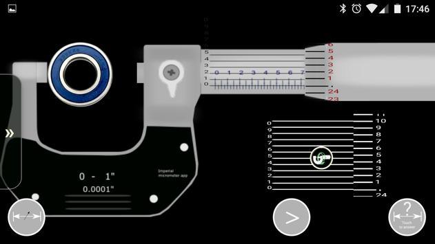 Imperial micrometer screenshot 3