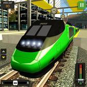 City Train Driver Simulator 2019 icon