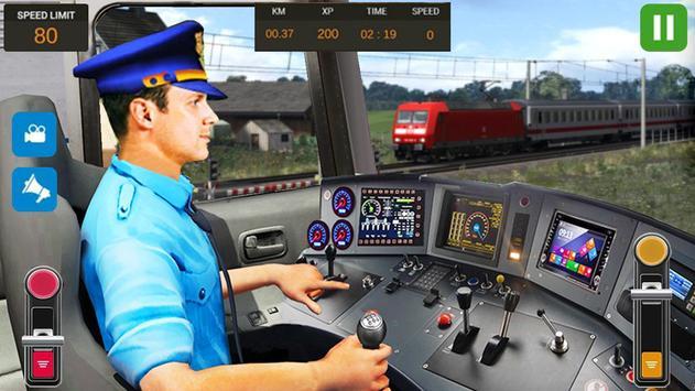City Train Driver Simulator 2019 poster