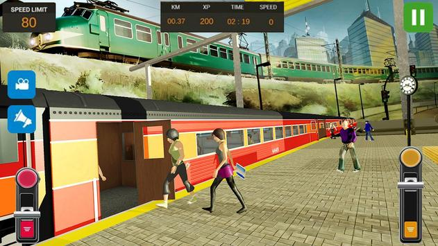 City Train Driver Simulator 2019 screenshot 12